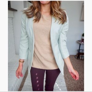 NWT the limited size small open blazer green ❤️